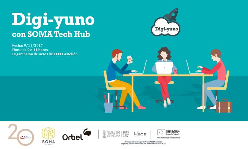 Digi-yuno de Open Innovation con Orbel en SOMA Tech Hub