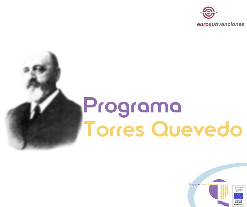 Ayudas para contratos Torres Quevedo (PTQ) 2017