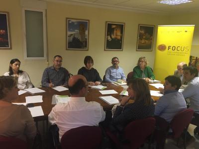 Reunión Comité de Organización Focus Pyme y Emprendimiento Utiel-Requena