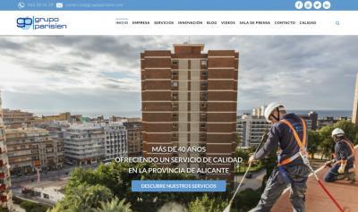 Web Grupo Parisien