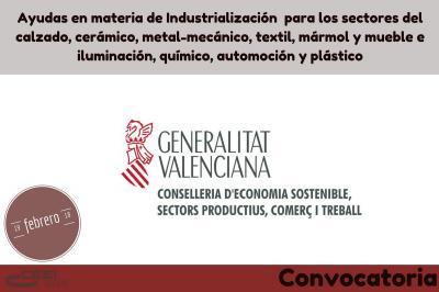 Ayudas a la industrialización