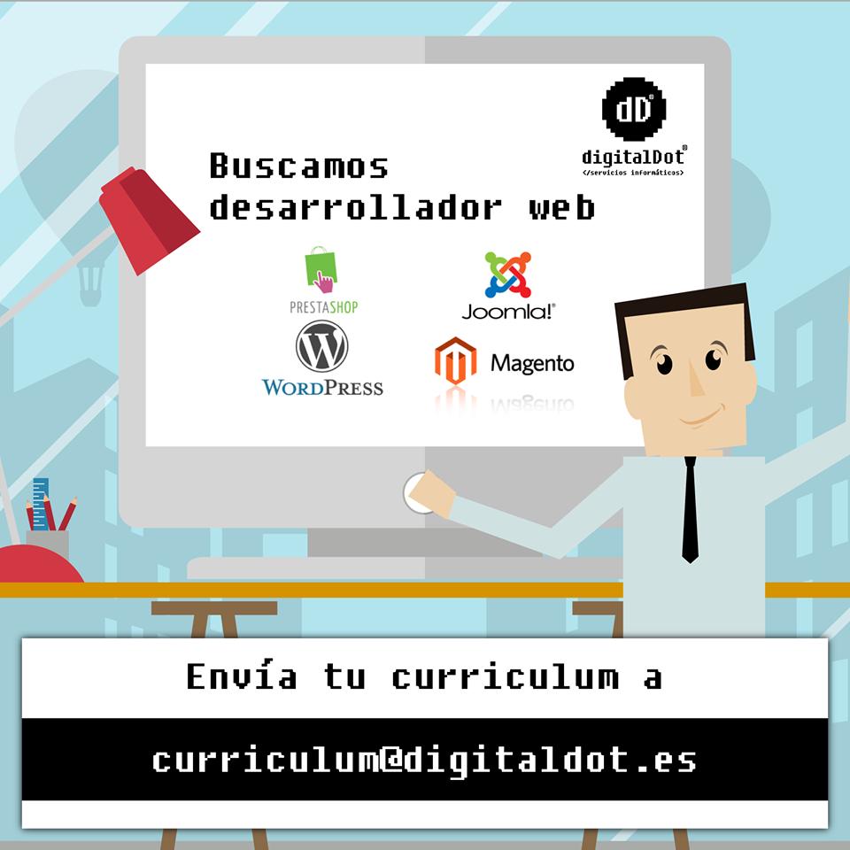 Oferta de trabajo: Programador WEB - | CEEI Elche | EmprenemJunts