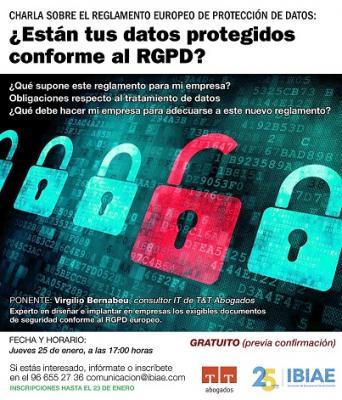 Charla sobre rProtección de datos
