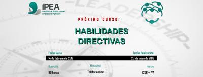 Curso: Habilidades Directivas. 2018