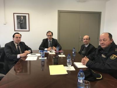 Fepeval se reúne con el subdelegado de Gobierno