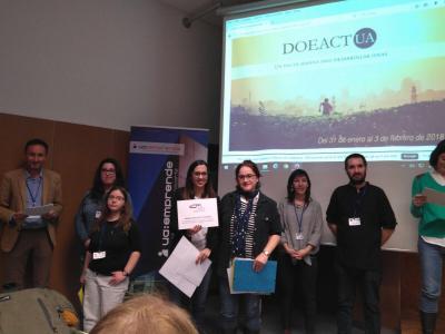 Buvilié recibe el premio al mejor proyecto