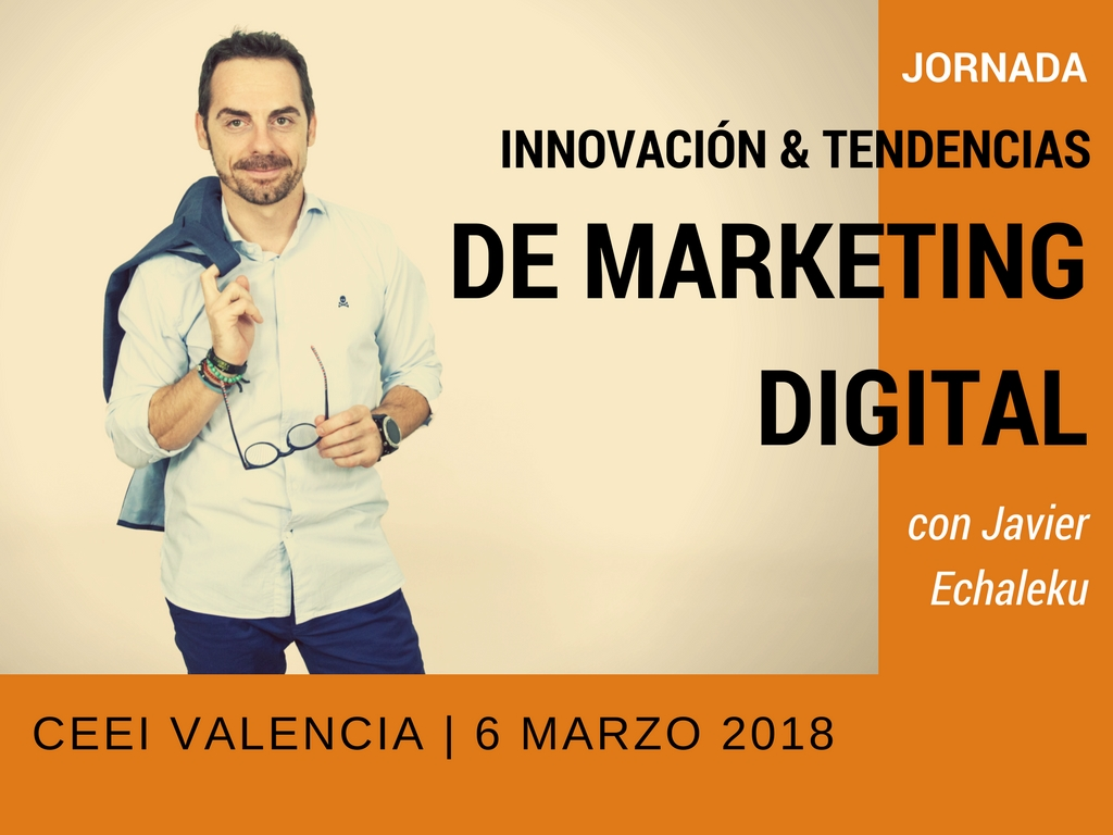 Jornada Innovación y tendencias de marketing digital