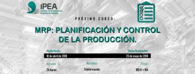 MRP: Planificación y control de la producción
