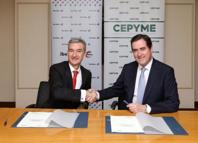 Ibercaja y Cepyme firman acuerdo colaboración