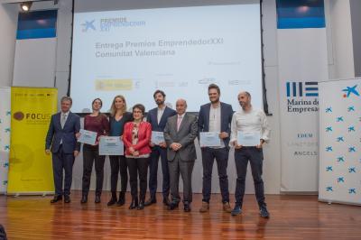 Entrega Premios EmprendedorXXI Comunitat Valenciana, edición 2018