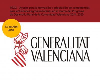 TEGG  Ayudas Desarrollo Rural Comunitat Valenciana