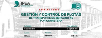 Gestión y Control de Flotas de transporte de mercancías por carretera