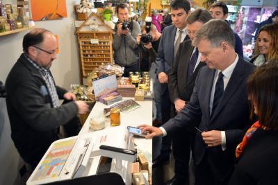 Caixa Bank y Morella promueven el Cashless City