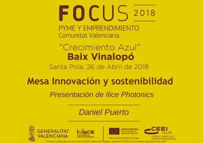 Presentación de la empresa Ilice Photonics