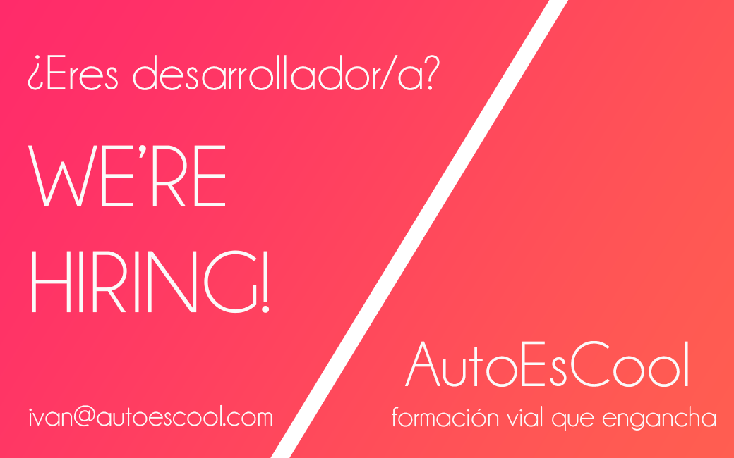 autoescool we're hiring