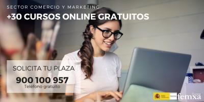 Cursos gratuitos online para el sector Comercio