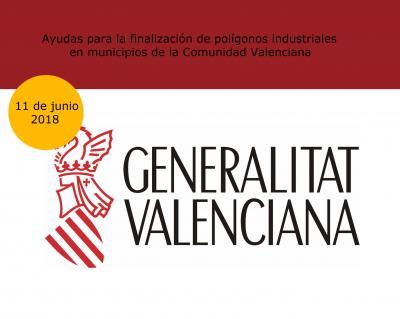 Ayudas para la finalización de polígonos industriales en municipios de la CV