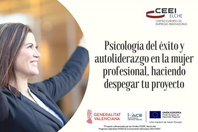 Psicología del éxito y autoliderazgo de la mujer profesional