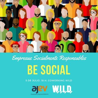 #BeSocial. el 5 de julio en Coworking WILD