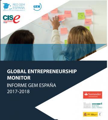 Informe GEM  2017-18 sobre el ecosistema emprendedor en España