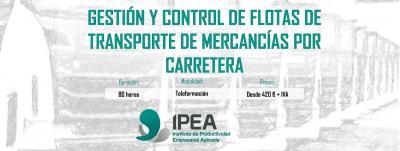 Curso: Gestión y Control de Flotas de transporte de mercancías por carretera