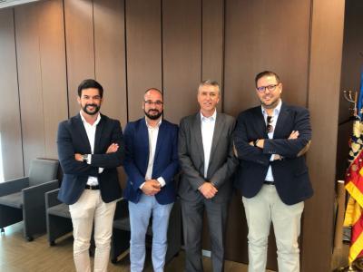 Reunión AJECV con Conselleria de Economía