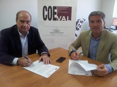 Coeval y CEEI firman un acuerdo de colaboración