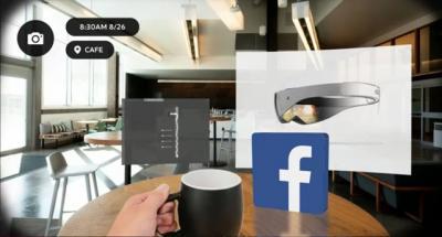 ¡Existen las gafas de Realidad Aumentada de Facebook!