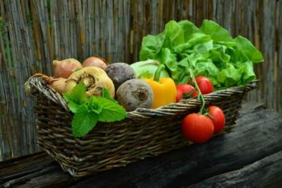 Verduras y fruta para los dientes