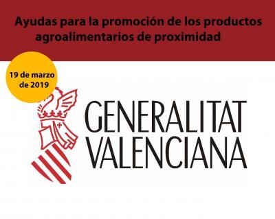 Ayudas para la promoción de los productos agroalimentarios de proximidad de la Comunitat V