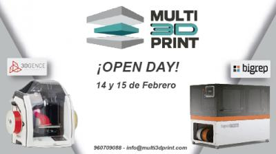 OPEN DAY MULTI3DPRINT