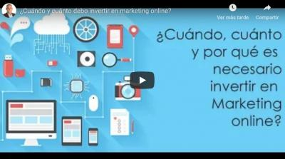 ¿Cuánto debo invertir en marketing digital?