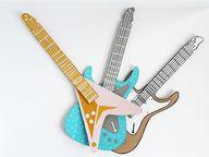 guitarras carton
