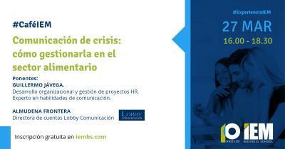 Café IEM: Comunicación de crisis