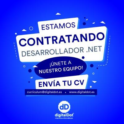 Oferta trabajo Desarrollador .NET
