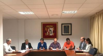 Reunión COEVAL en Alfarrasí