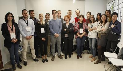 Participantes de la 3ª edición de Operación Consolida en la sede de Dolores Cortés