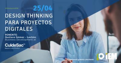 Design Thinking para proyectos digitales