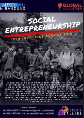 social entrepeneurship Indonesia