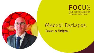 Manuel Esclapez, gerente de Vitalgrana