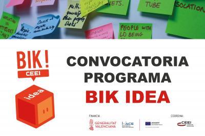 Convocatoria Facilitador BIK Idea