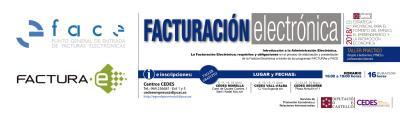 Taller Facturación electrónica: Facturae y FACE
