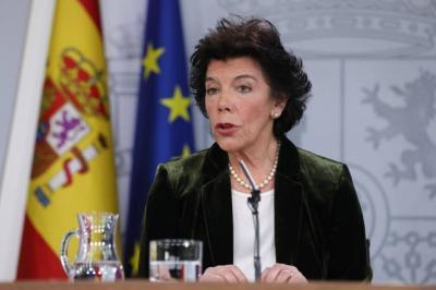 Isabel Celaà - Portavoz del Gobierno