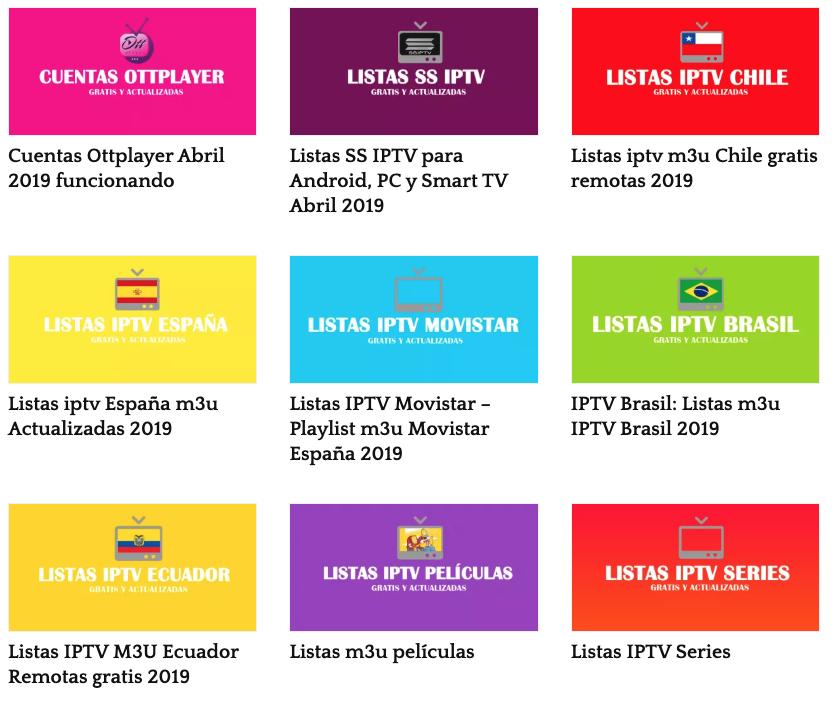 Maneras de ver TV gratis con listas iptv - Noticia | Páginas naranja