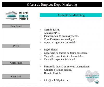 auxiliar marketing