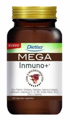 Mega Inmuno + Dietisa 60 cápsulas Envío gratuito