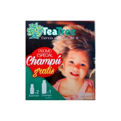 Pack regalo 2 Árbol del té+Champú gratis Eladiet