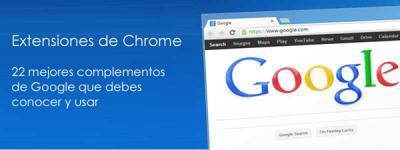 extensiones de google