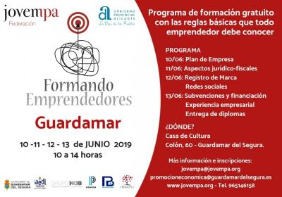 Formando Emprendedores Guardamar 2019