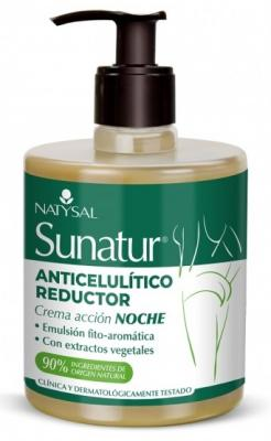 Sunatur Crema anticelulítica Noche Natysal 500 ml Envío gratuito